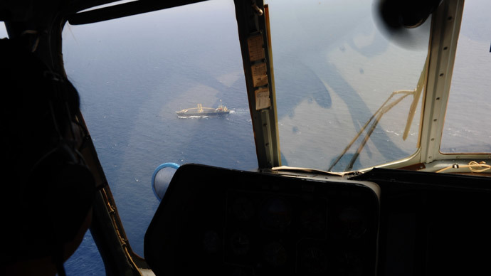 US: 'Indications' exist that Malaysian aircraft may have crashed in Indian Ocean