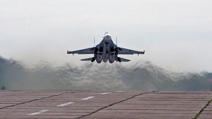 Russia transfers nine warplanes to Belarus to 'counter massing of forces on the border'