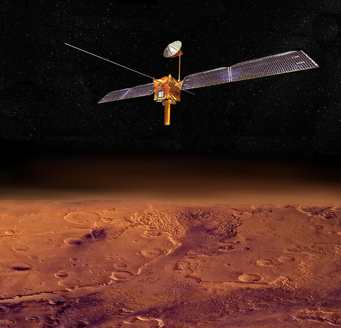 Mars Reconnaissance Orbiter (AFP Photo / NASA)