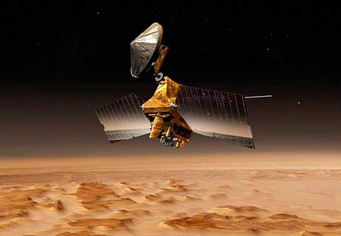 Mars Reconnaissance Orbiter (AFP Photo / NASA / JPL)