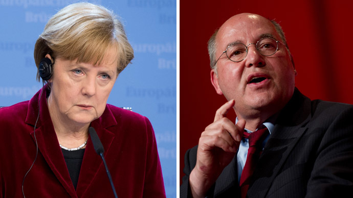 'They are fascists!' German Left leader blasts Merkel's support of illegitimate Ukraine govt