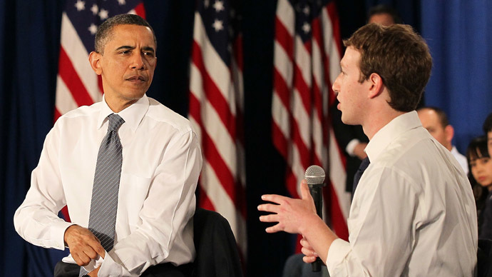 Facebook's Zuckerberg lashes out at Obama over NSA spy program