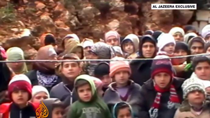 Screenshot from YouTube user Al Jazeera English