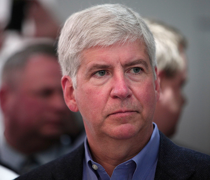 Gov. Rick Snyder (Bill Pugliano / Getty Images / AFP)