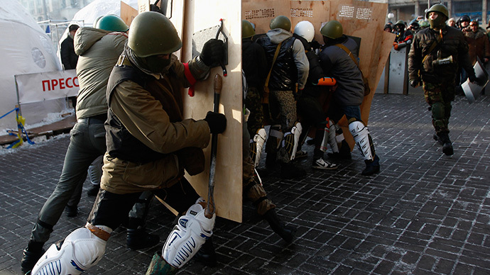 Concerns as Ukraine's govt hastily revamps Maidan squads into National Guard