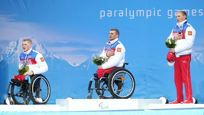 Sochi Paralympics Day 7: Russians' medals haul now 64, with 25 gold