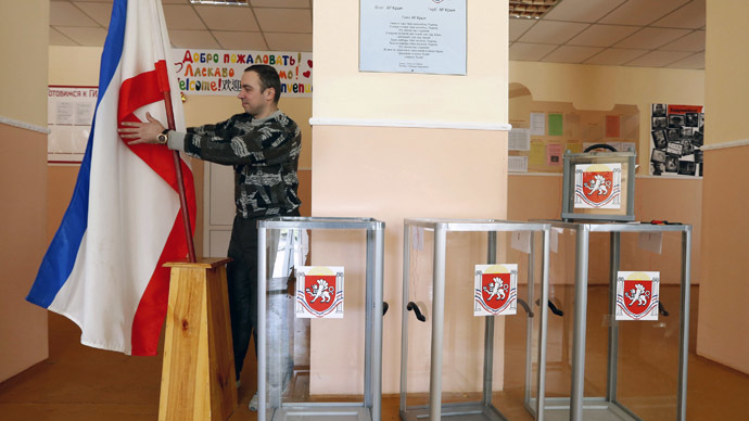 ​Crimea 'calm' ahead of referendum – intl observers