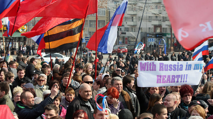Thousands picket Donetsk govt building, demand release of local governor