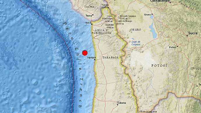 7.0-magnitude quake strikes Chile
