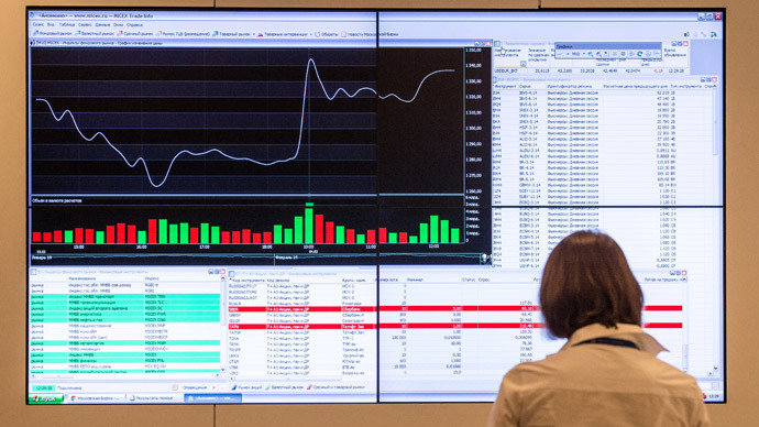 Russian stocks rebound after Crimea chooses to breakaway
