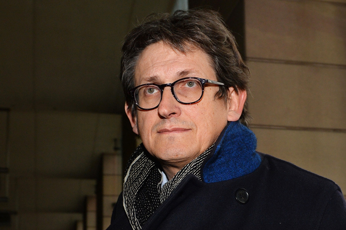 The editor of Britain's Guardian newspaper, Alan Rusbridger (AFP Photo / Ben Stansall)