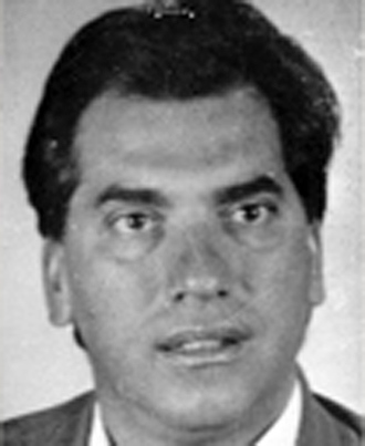 Domenico Rancadore, identified by British police as a senior member of an Italian mafia clan (Reuters / Ministero dell'Intero)