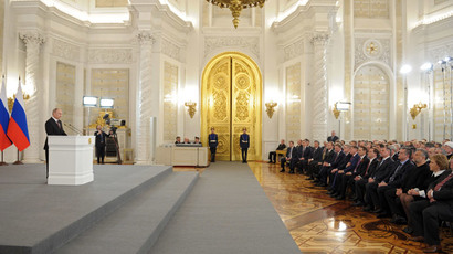 President Putin's address to Parliament over Crimea