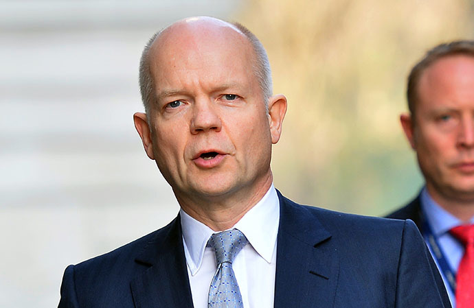 British Foreign Secretary William Hague (AFP Photo / Ben Stansall)