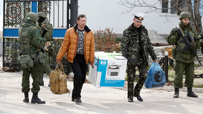 Crimea military center shooting resembles sniper fire at Kiev's Maidan