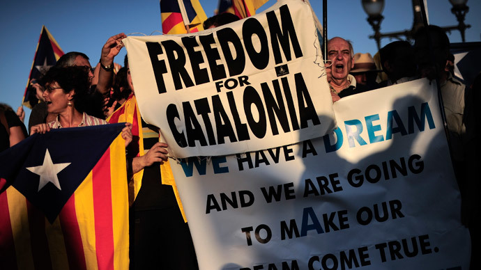 Up to 60% of Catalonians want independence – poll