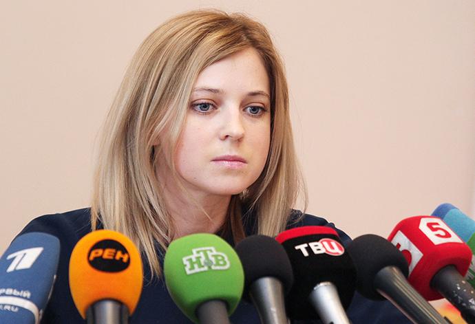 Crimean prosecutor, Natalya Poklonskaya (RIA Novosti / Taras Litvinenko)