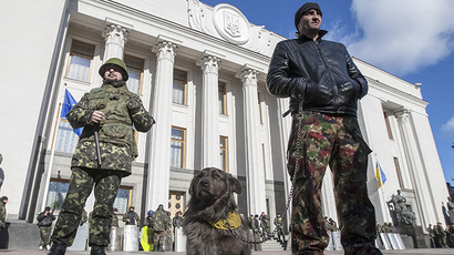 Ukraine's new National Guard raises fears in country's east