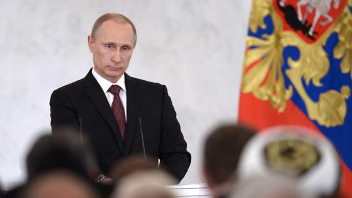 Putin's rating climbs to 5-year peak
