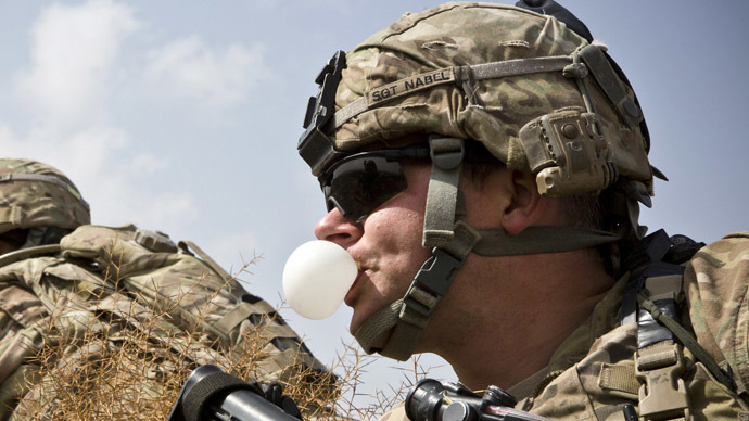 Pentagon developing combat chewing gum