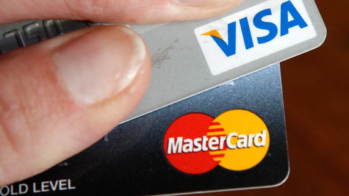 Visa, Mastercard block US-sanctioned Russian banks