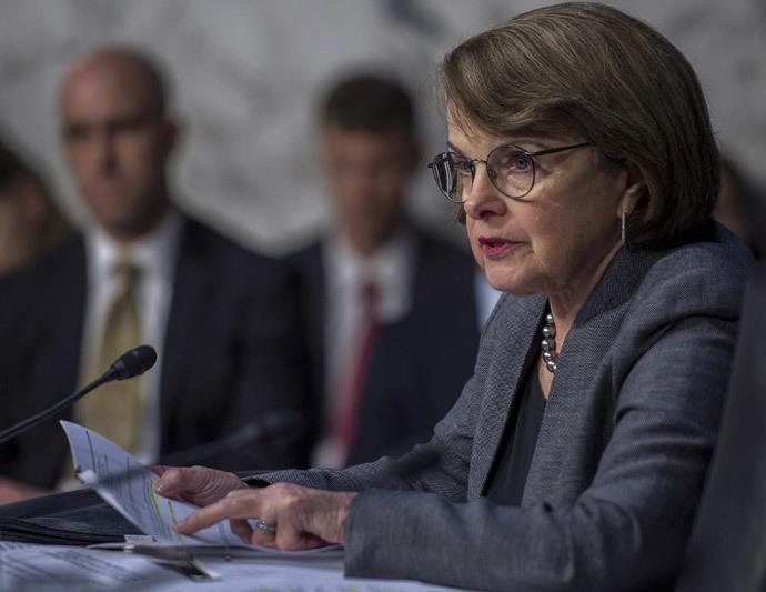 US Senator Diane Feinstein.(AFP Photo / Paul J. Richards )