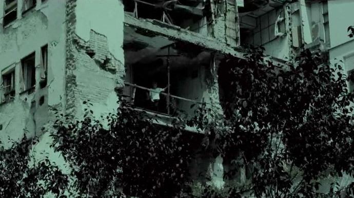 Screenshot from 'Zashto?' documentary