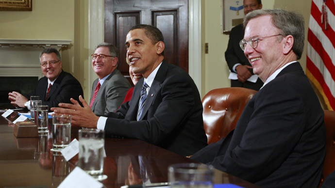 Obama meets with top tech, internet CEOs on review of NSA policies