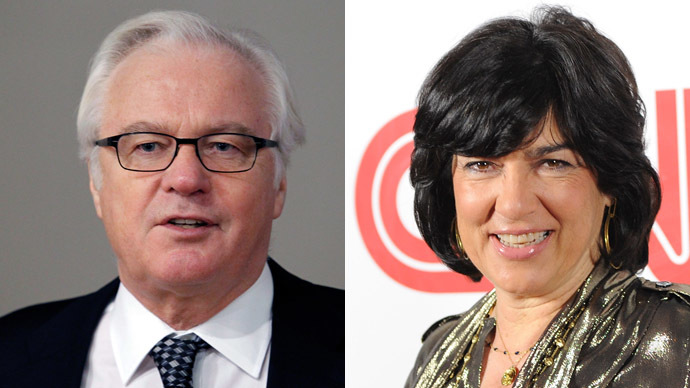 Russia's UN envoy Churkin replies to CNN anchor Amanpour