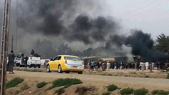 Double bombing hits Iraq after Friday wave of attacks claimed 50 lives