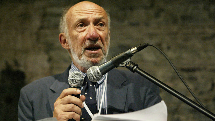 Richard Falk (AFP Photo / Cem Turkel)