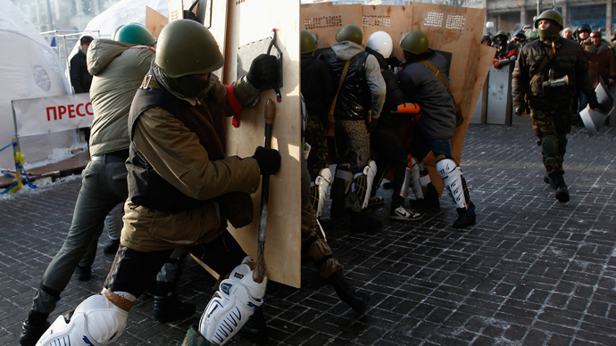 Ukraine parliament orders all armed groups to lay down weapons