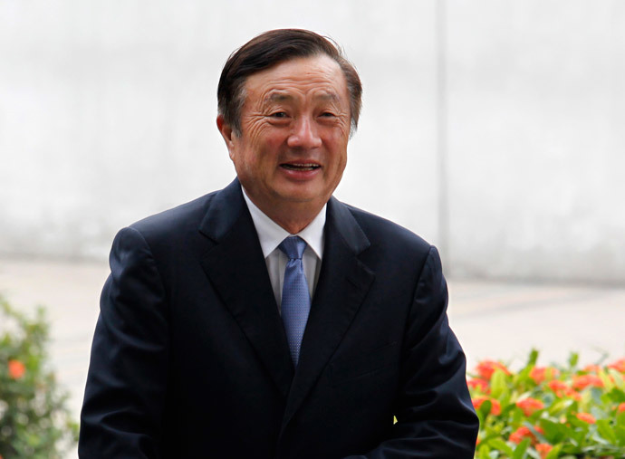 Huawei CEO and founder Ren Zhengfei (Reuters / Bobby Yip)
