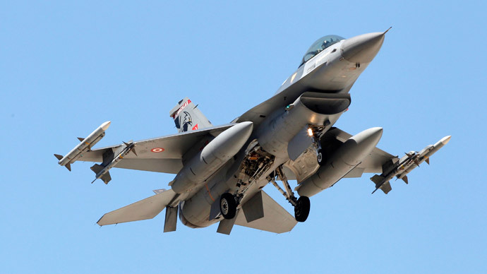 Turkey downs Syrian jet near border 'for airspace violation'