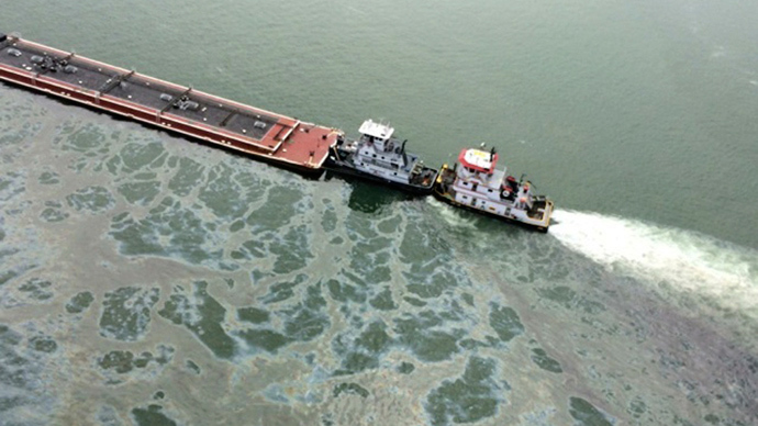 Ohio oil spill much worse than previously thought (PHOTOS)