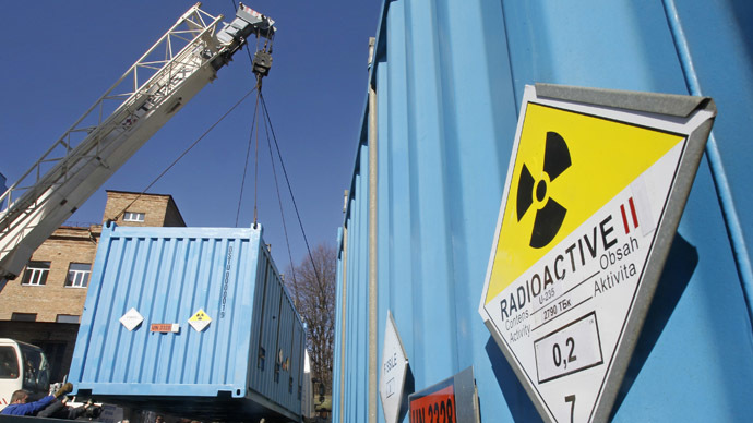 Japan prepares to ship nuclear materials to the US