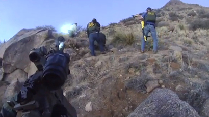 Albuquerque police use tear gas on raging protesters after fatal police shooting