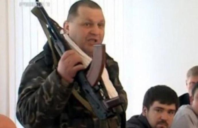 Aleksandr Muzychko (Still from YouTube video/TVRivne1)