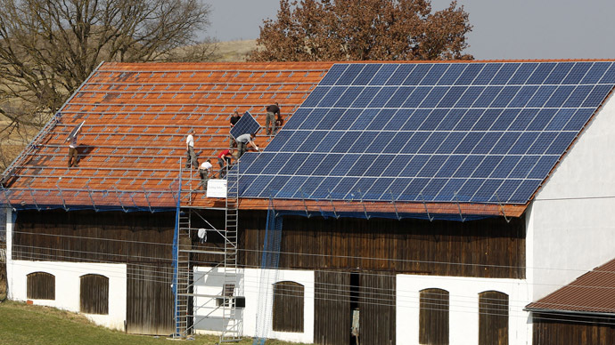 Solar energy now same price as conventional power in Germany, Italy, Spain - report