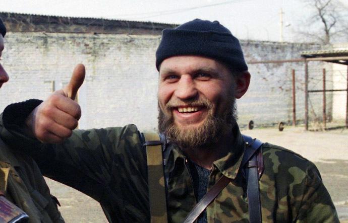 Aleksandr Muzychko aka Sashko Bilyi in Chechnya
