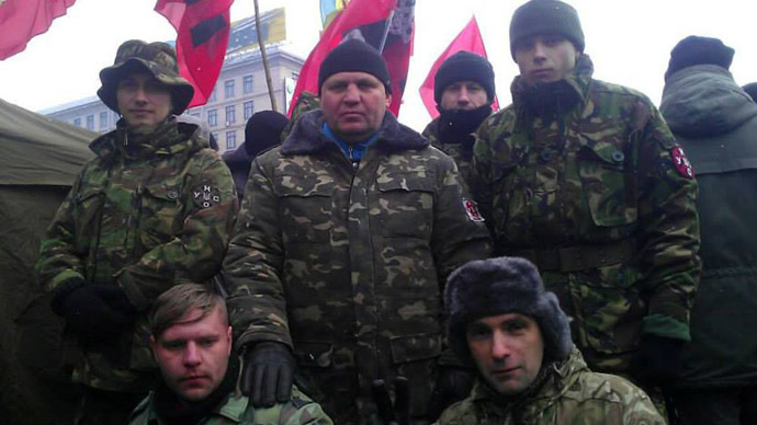 Nationalists threaten Ukrainian top cop with 'revenge' over far-right leader murder