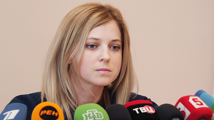 Crimean chief prosecutor Natalia Poklonskaya 'wanted' by Ukraine's security service