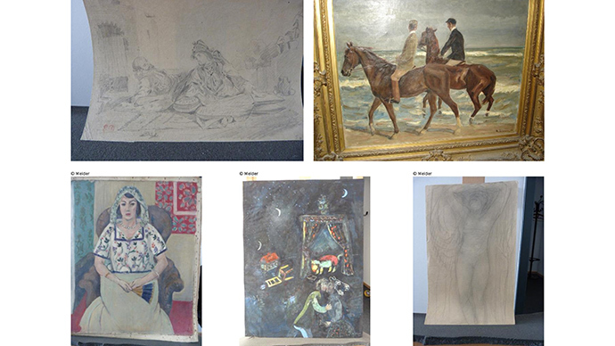 German recluse agrees to return $1bn looted Nazi art collection