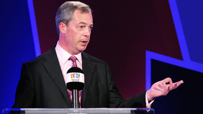 EU has 'blood on its hands' over Ukraine – UKIP leader