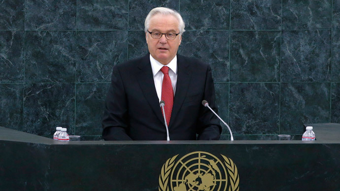 UN vote shows Russia far from isolated – Churkin