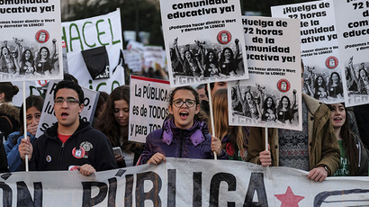 'Disobedience 2014': Mass protest calls for an end to austerity in Spain