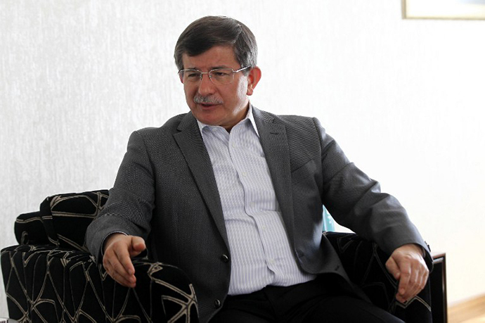 Turkish Foreign Affairs minister Ahmet Davutoglu (AFP Photo / Adem Altan)