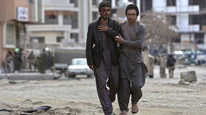 At least 6 dead as suicide bomber strikes outside Interior Ministry in Kabul