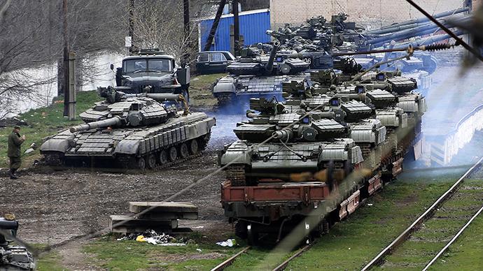 Putin orders Ukrainian weapons returned from Crimea
