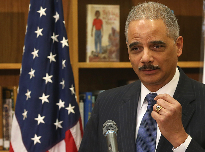 Attorney General Eric Holder (AFP Photo / Mark Wilson)
